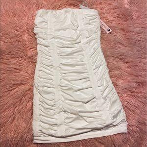 White strapless dress MODATOi Paris